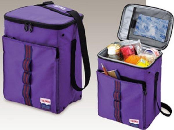 ~FUJIJO~現貨~【日本THERMOS膳魔師】便當袋保溫袋保冰袋保冷袋保鮮袋收納薄 15L紫色款 AB