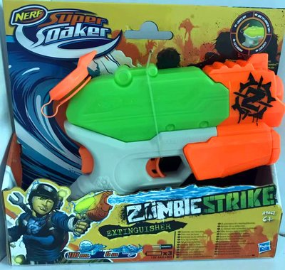 NERF 槍 Zombie Strike Blaster 發光 水槍 子彈槍