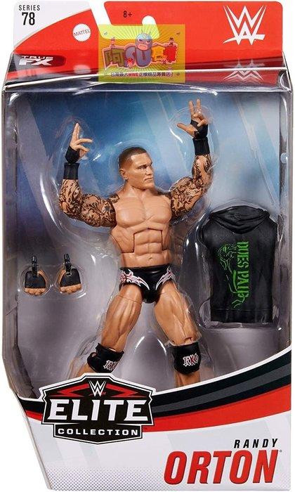 ☆阿Su倉庫☆WWE摔角 Randy Orton Elite 78 Figure RKO精華版人偶附偶衣 熱賣特價中