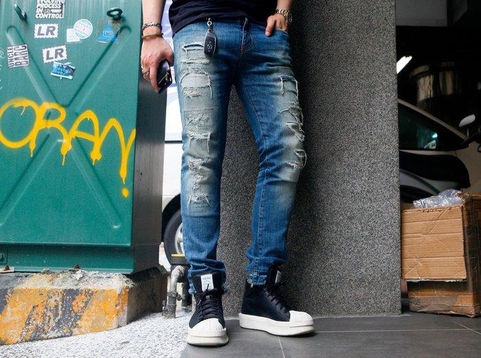 Faith Connexion 法國 義製 錐形 上寬下窄 破壞 牛仔褲 單寧 全新 現貨