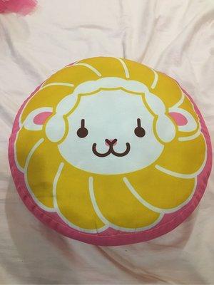 Mister Donut 統一甜甜圈波堤獅 抱枕