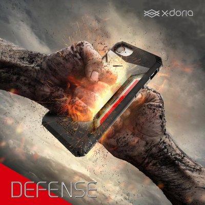 X-doria  戰士系列 iPhone 7 / 7 Plus 金屬 橡膠保護套 加厚保護 防摔抗【艾斯奎爾】