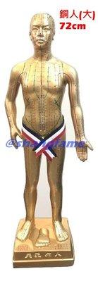 【上發】中醫 穴位 銅人 人體模型 72cm 18銅人 經絡 針灸 體穴位 非市面上劣質品 玻璃纖維 非塑膠 台灣製