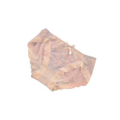 舒適洛麗塔舒適絲滑可愛宮廷萌女蛋糕刺繡少女系蕾絲牛奶絲蝴蝶結內褲