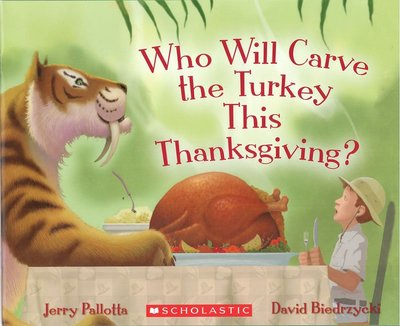*小貝比的家*WHO WILL CARVE THE TURKEY THIS THANKSGIVING /平裝/3~6歲