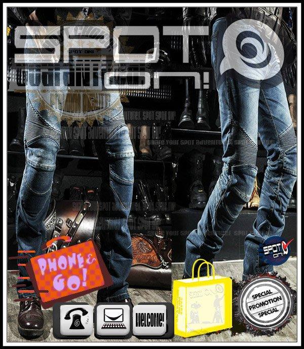 Spot ON - RPMCN R2A 新款立體剪裁牛仔褲 防摔褲.四件式可拆新款CE護具升級版! AGV 大魔 小黃蜂