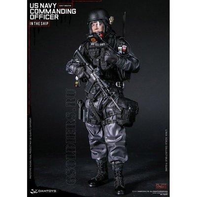 DAMTOYS US NAVY COMMANDING OFFICER 美國海軍指揮官 1/6 人偶~請詢問價格/庫存
