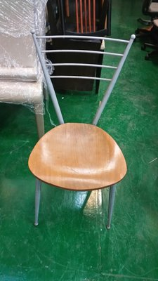 台中中古家具賣場 宏品二手傢俱拍賣家 F471*倒三角木紋餐椅 洽談椅 會議椅 麻將桌椅 洽談椅 書桌椅 辦公椅電腦椅