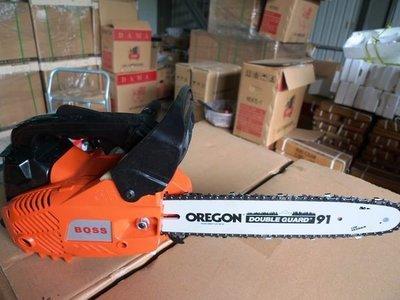 附發票*東北五金*正BOSS 電動鏈鋸機 引擎鏈鋸機 手提鏈鋸機 切割機 YD-KU01-25 優惠價!