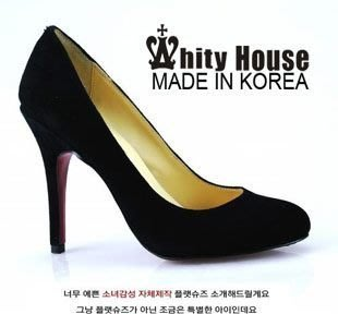 =WHITY=韓國高級LOWEEN代購‧內外全真皮羊皮 有大碼 義大利製圓頭高跟鞋 大S有穿LXG1326