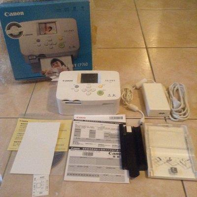預售 全新 佳能 Canon SELPHY CP760 攜帶式照片打印機 和CP800 910 相同墨水盒熱感應和相紙