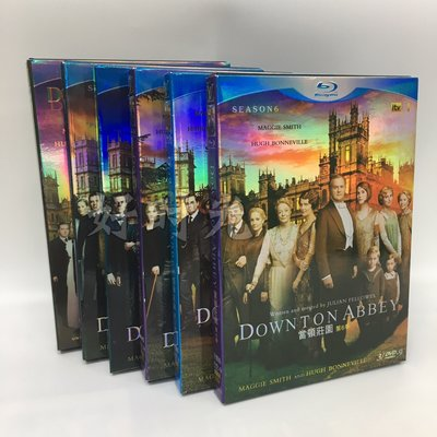 BBC英劇高清DVD Downton Abbey唐頓莊園 1-6季完整版收藏碟片