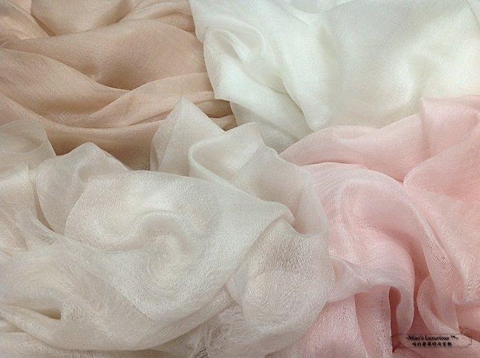 頂級300支Super fine 100% cashmere 百搭淺裸pashmina Shahmina喀什米爾圍巾披肩