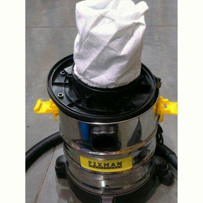 【 1入裝 副廠品 現貨 實拍照】FIXMAN 吸塵器 EC815 通用 不織布過濾袋 馬達保護套乾濕吸塵器不織布濾套 濾袋