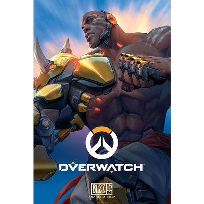 【丹】暴雪商城_Overwatch Doomfist Poster 鬥陣特攻 毀滅拳王 海報