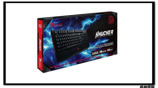 【格林電腦】Tt 曜越 速戰傭兵 Knucker 類機械式電競鍵盤 中文版/防鬼鍵 現正降價熱賣!!