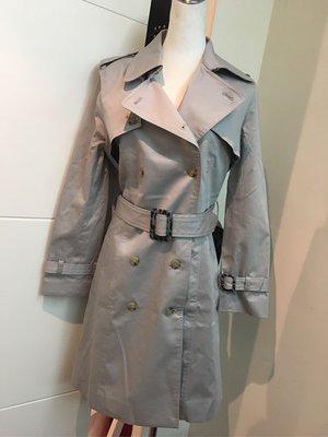 全新專櫃 BOSCH 灰色挺料風衣外套 38 現貨特價