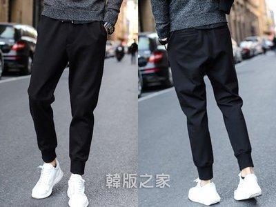 韓版男士休閑褲修身運動男褲束腳褲 G251