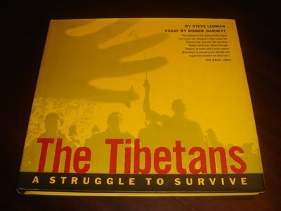 【三米藝術二手書店】『The Tibetans:A STRUGGLE TO SURVIVE』攝影集,Virgin出版