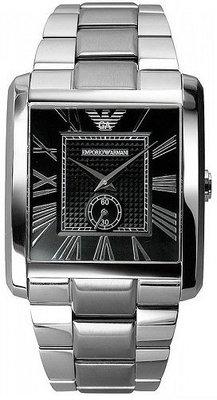 士林手錶專家-ARMANI Classic 紳士風格小秒針時尚腕錶 AR1642 台北市