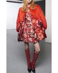 3799歐元 世界級奢華品牌 Giambattista Valli 拜占庭風小洋裝 runway秀款