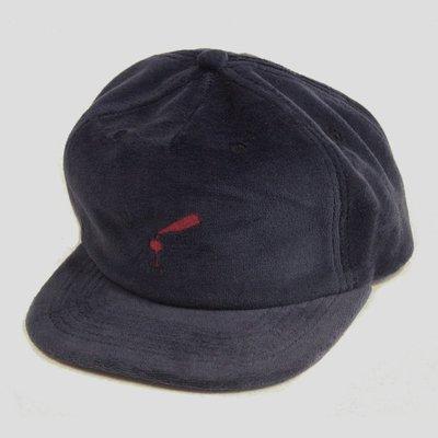 PASS~PORT- WINE~TIME|紅酒 電繡 深藍色 六片式 絨布 棒球帽 現貨販售【 LOYALTY 】