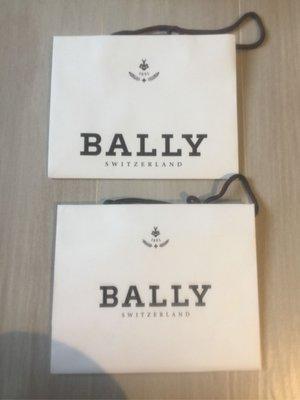 【Bally】原裝白色紙袋 paper bag 20 x 25 x 10 cm (100%新) 每個 $20
