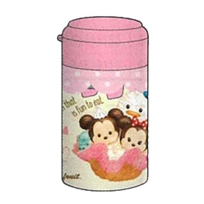 迪士尼TsumTsum 日製圓形單孔削筆器《橘粉.冰淇淋》削鉛筆器.學童文具