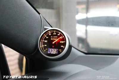 【精宇科技】Top Gauge 新品上市 TOYOTA AURIS 專用OBD2 水溫錶
