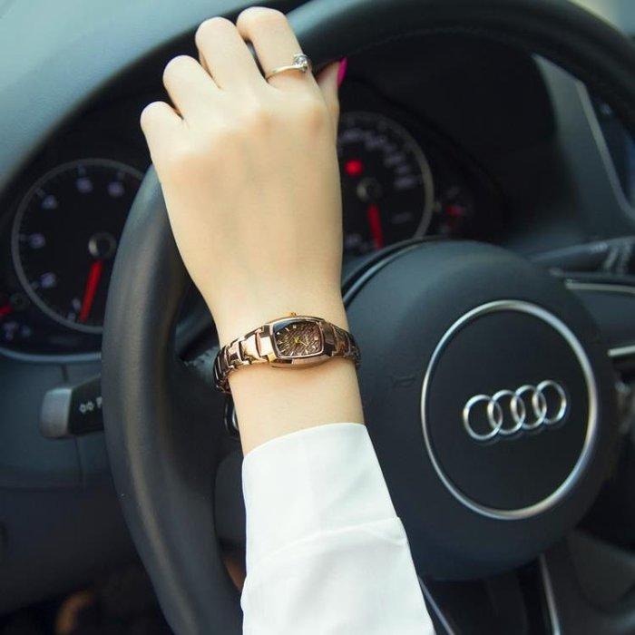 手錶女學生韓版簡約時尚潮流女士手錶防水送禮品石英女表腕表