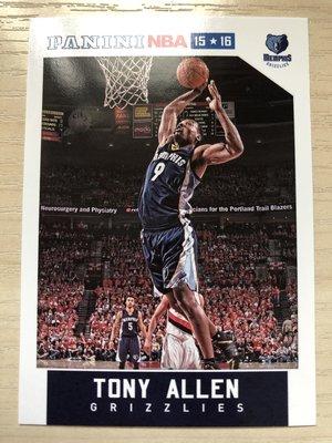 Tony Allen #59/#129 2015-16-17 Panini NBA Hoops