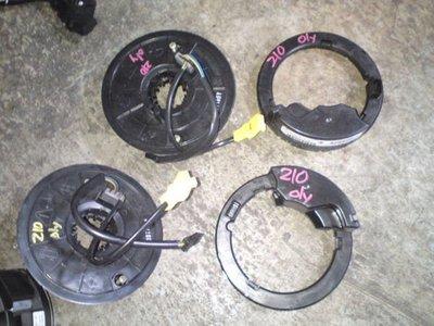 BENZ W202 w203 w204 w210 w211 w140 w220  w163 R170 R171 各式氣囊線圈 方向燈撥桿 轉角感知器出售