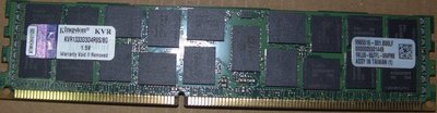 金士頓KVR1333D3D4R9S/8G DDR3-1333 8GB ECC REG記憶體REGISTERED伺服器專用