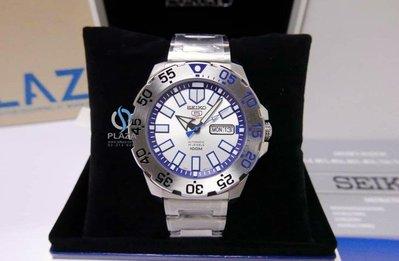 日本SEIKO精工手錶 Baby Monster 自動上鍊 100米(M)潛水機械錶 男生腕錶 43mm