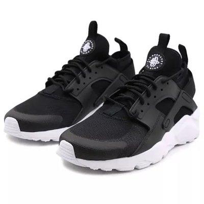 【Footwear Corner 鞋角 】Nike Air Huarache Run Ultra 武士鞋黑面白底