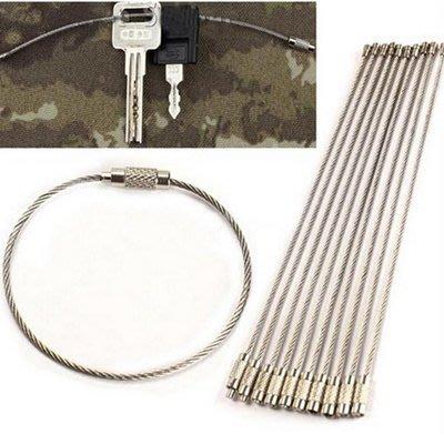 不鏽鋼鑰匙圈環(5入1組)【AF06031-5】i-Style