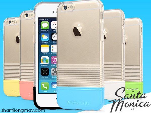 蝦靡龍美【PH463】TOTU iPhone 6 6S Plus 馬卡龍透明軟殼保護套 TPU 手機殼 來電閃殼 充電線