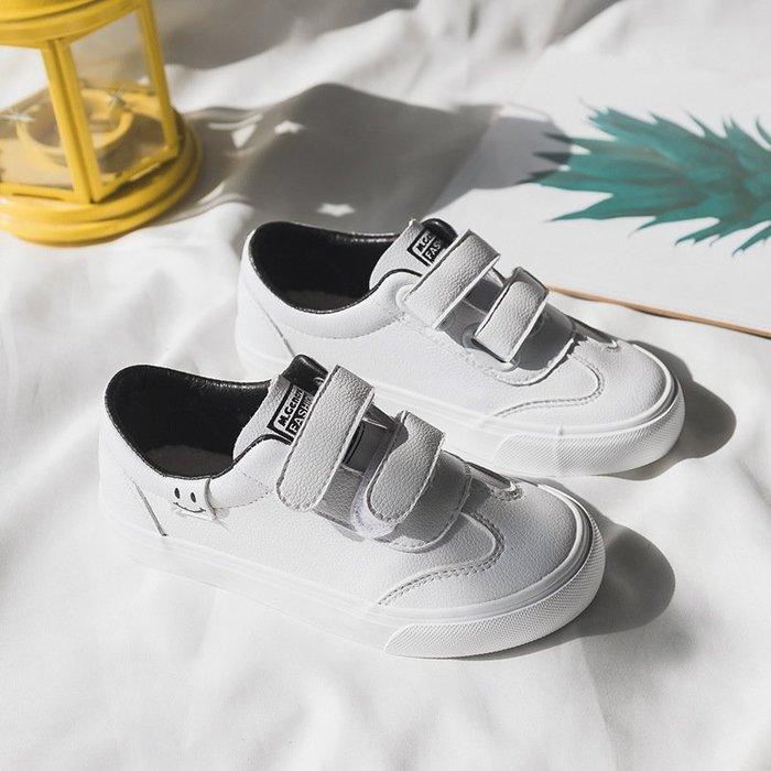 春季新款童鞋時尚休閒童鞋舒適板鞋魔術貼潮鞋2829
