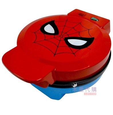 【木星代購】《美國代購 Marvel 蜘蛛人 鬆餅機 預購》漫威復仇者聯盟下午茶甜點冰淇淋交換禮物鋼鐵人