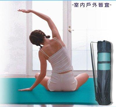 【Treewalker露遊】221024-1瑜珈墊黑色網袋背袋手提袋束口袋。大100元一個。