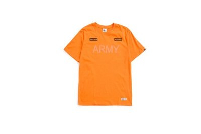(MARVELOUS) SQUAD 2017 S/S S ARMY T-SHIRT ARMY軍事Tee 橘色