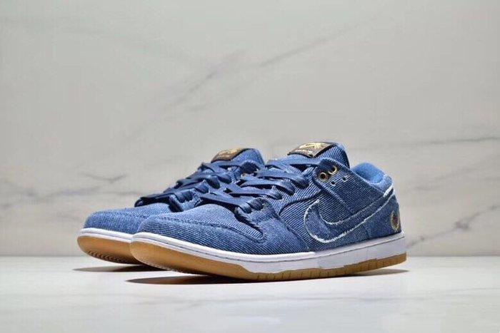 "Nike SB Dunk Low Pro Qs ""Denim"" 883232~441"