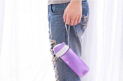 「免運」水杯塑料運動水壺戶外便攜隨手杯學生創意茶杯夏季帶蓋杯子 『菲菲時尚館』