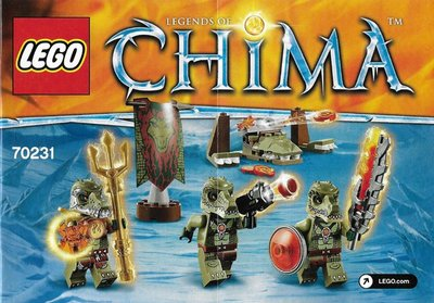 全新現貨 70231 LEGO Legends of Chima LegoCrocodile Tribe Pack