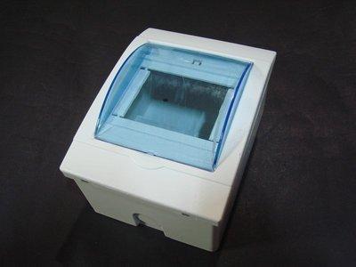 【299】 無熔絲開關盒 透明 開關箱 機台控制盒  配電箱 1-4P 電子外殼