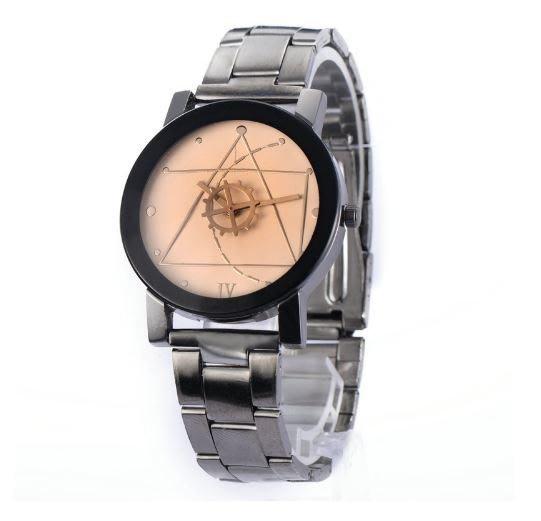 【省錢博士】簡約復古鋼帶手錶/情侶對錶 199元