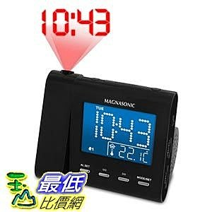 Magnasonic 廣播收音投影鬧鐘 MAG-MM176K AM/FM Projection Clock Radio