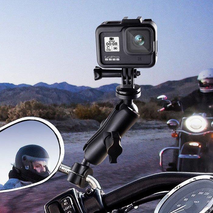 【附發票】 專業級 運動相機摩托車支架 重車 GOPRO DJI 山狗 小米