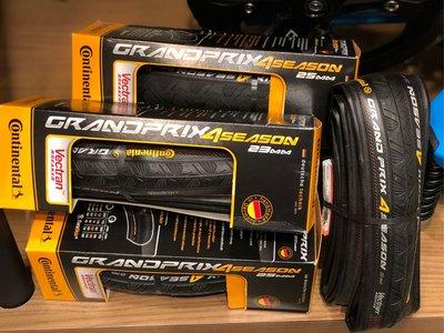 (J.J.Bike) 馬牌 Continental Grand Prix 4-Season Tyre 四季胎 讓你長途北高不用怕 耐用可折