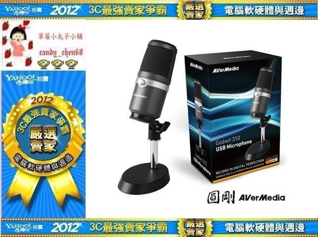 【35年連鎖老店】圓剛 AM310 黑鳩 高音質USB麥克風 直播.演唱專用有發票/1年保固